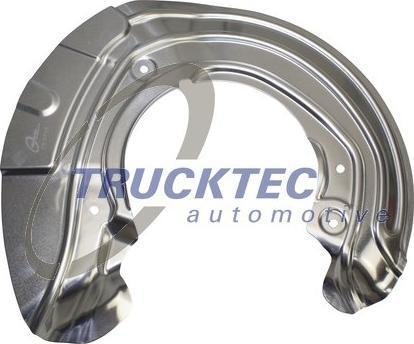 Trucktec Automotive 08.35.227 - Dubļu sargs, Bremžu disks interparts.lv