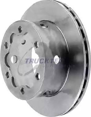 Trucktec Automotive 02.35.056 - Bremžu diski interparts.lv