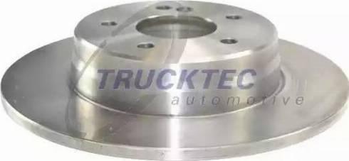 Trucktec Automotive 02.35.037 - Bremžu diski interparts.lv