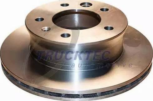 Trucktec Automotive 02.35.025 - Bremžu diski interparts.lv