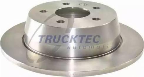 Trucktec Automotive 02.35.075 - Bremžu diski interparts.lv