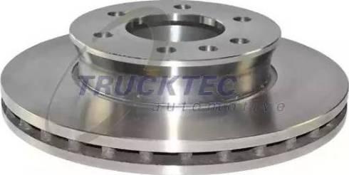 Trucktec Automotive 02.35.194 - Bremžu diski interparts.lv