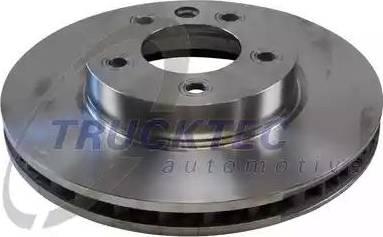 Trucktec Automotive 07.35.187 - Bremžu diski interparts.lv