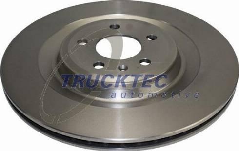 Trucktec Automotive 07.35.305 - Bremžu diski interparts.lv