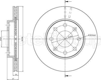 Trusting DF922 - Bremžu diski interparts.lv