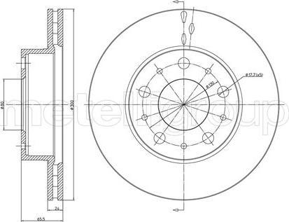 Trusting DF547 - Bremžu diski interparts.lv