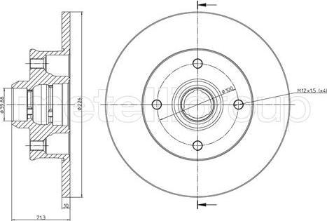 Trusting DF574 - Bremžu diski interparts.lv