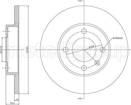 Trusting DF012 - Bremžu diski interparts.lv