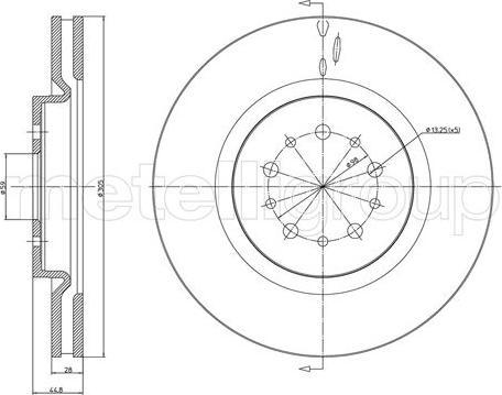 Trusting DF1616 - Bremžu diski interparts.lv