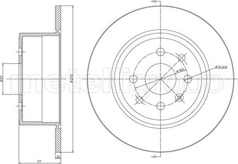 Trusting DF184 - Bremžu diski interparts.lv