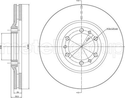 Trusting DF392 - Bremžu diski interparts.lv