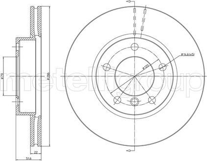 Trusting DF283 - Bremžu diski interparts.lv