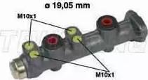 Trusting PF034 - Galvenais bremžu cilindrs interparts.lv