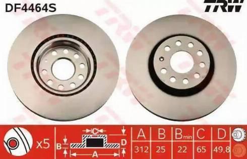A.B.S. 17558 - Bremžu diski interparts.lv