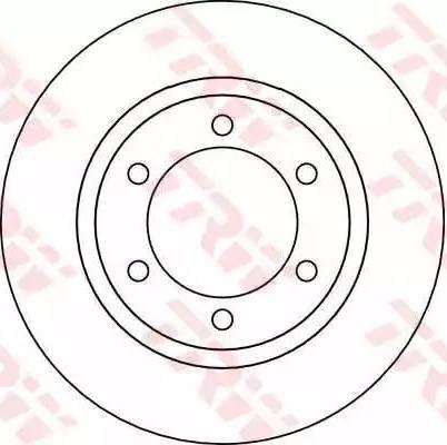 TRW DF4115 - Bremžu diski interparts.lv