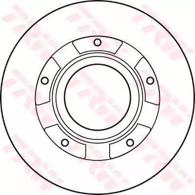 TRW DF4821S - Bremžu diski interparts.lv