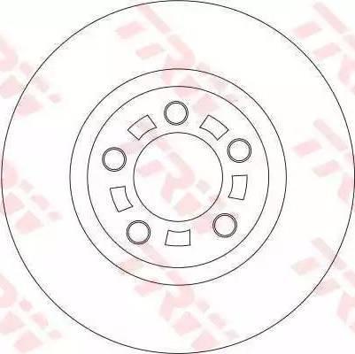 TRW DF4385 - Bremžu diski interparts.lv