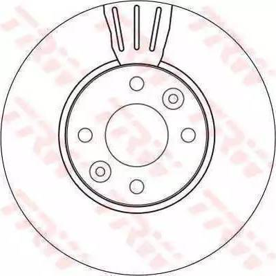 A.B.S. 17541 - Bremžu diski interparts.lv