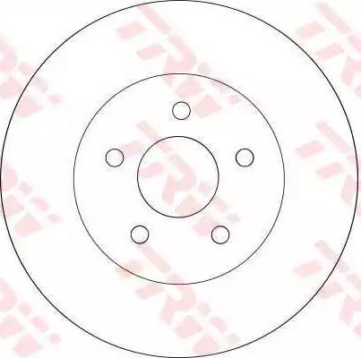 TRW DF4218 - Bremžu diski interparts.lv