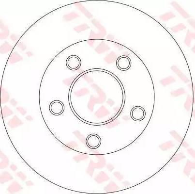 TRW DF4273S - Bremžu diski interparts.lv