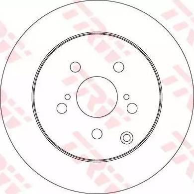 TRW DF6319 - Bremžu diski interparts.lv