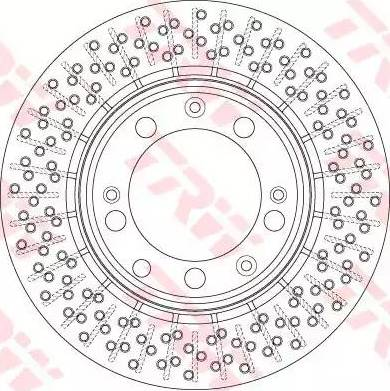 TRW DF6281 - Bremžu diski interparts.lv