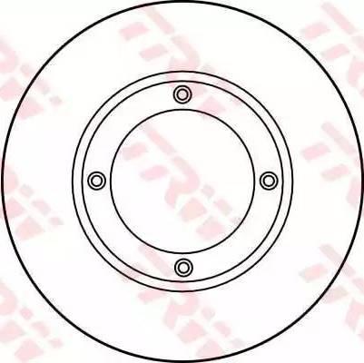 TRW DF1925 - Bremžu diski interparts.lv