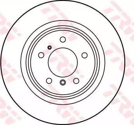TRW DF1597 - Bremžu diski interparts.lv