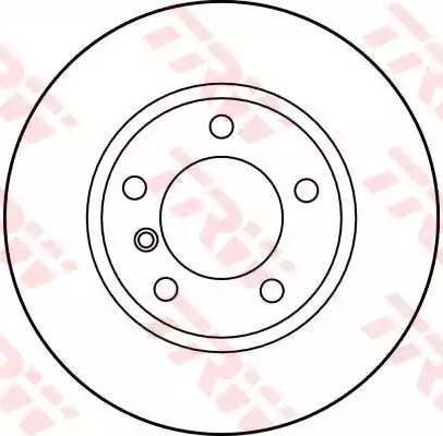 TRW DF1537 - Bremžu diski interparts.lv