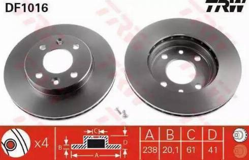 Cifam 800-110 - Bremžu diski interparts.lv