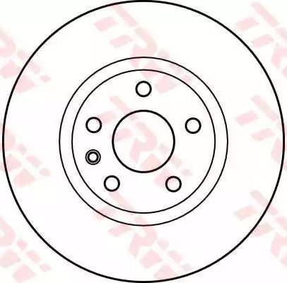 TRW DF2645 - Bremžu diski interparts.lv