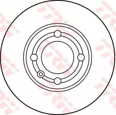 TRW DF2755 - Bremžu diski interparts.lv