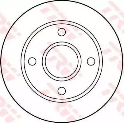 TRW DF2752 - Bremžu diski interparts.lv
