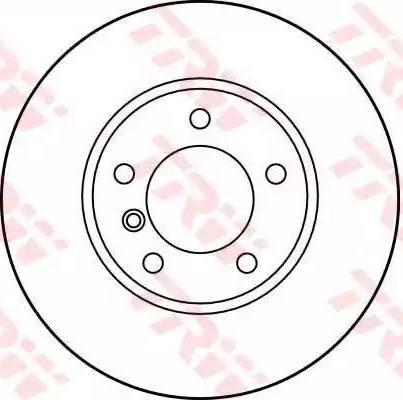 TRW DF2769 - Bremžu diski interparts.lv