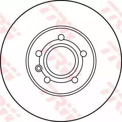 TRW DF2776 - Bremžu diski interparts.lv