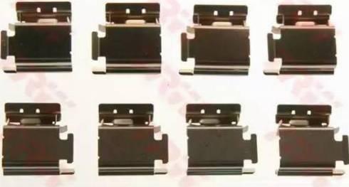 TRW PFK413 - Piederumu komplekts, Disku bremžu uzlikas interparts.lv