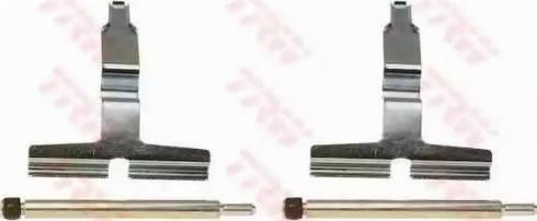 TRW PFK412 - Piederumu komplekts, Disku bremžu uzlikas interparts.lv