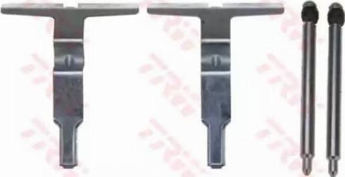 TRW PFK506 - Piederumu komplekts, Disku bremžu uzlikas interparts.lv