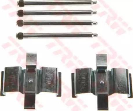 TRW PFK602 - Piederumu komplekts, Disku bremžu uzlikas interparts.lv