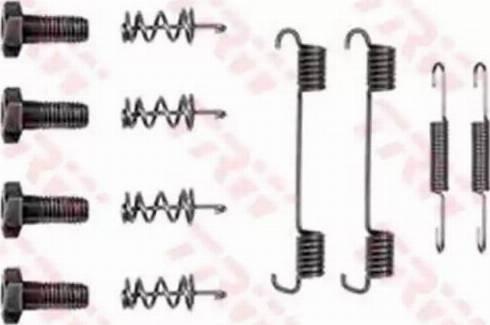 TRW SFK109 - Piederumu komplekts, Stāvbremzes mehānisma bremžu loks interparts.lv