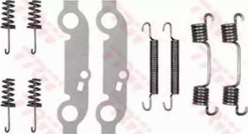 TRW SFK28 - Piederumu komplekts, Stāvbremzes mehānisma bremžu loks interparts.lv