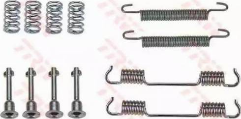 TRW SFK222 - Piederumu komplekts, Stāvbremzes mehānisma bremžu loks interparts.lv