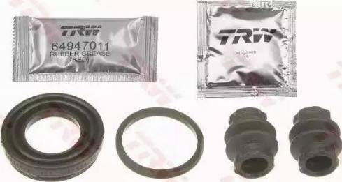 TRW SJ1246 - Remkomplekts, Bremžu suports interparts.lv
