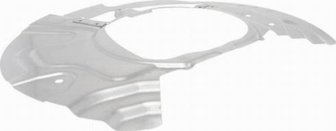 VAICO V20-3592 - Dubļu sargs, Bremžu disks interparts.lv