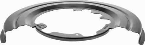 VAICO V27-0049 - Dubļu sargs, Bremžu disks interparts.lv