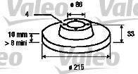 Valeo 197114 - Bremžu diski interparts.lv