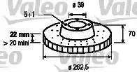 Valeo 186776 - Bremžu diski interparts.lv