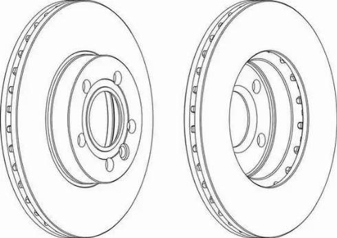 FREMAX BD-1093 - Bremžu diski interparts.lv