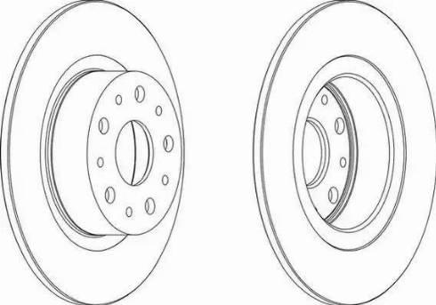 A.B.S. 16583 - Bremžu diski interparts.lv