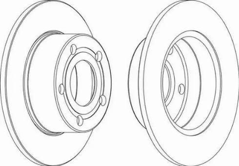 A.B.S. 16099 - Bremžu diski interparts.lv